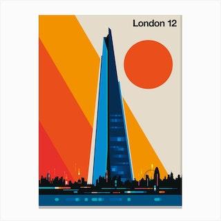 London 12 Canvas Print