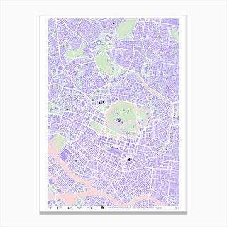 Tokyo Violet Canvas Print