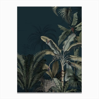 Dreamy Jungle Canvas Print