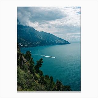 Amalfi Coast Boats Vi Canvas Print