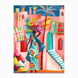 Marrakesh Fruit Canvas Print