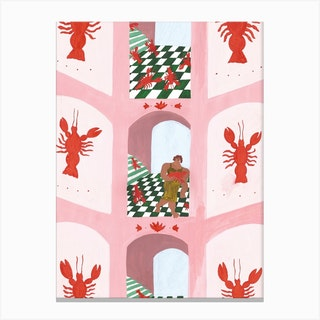 Lobster House Canvas Print