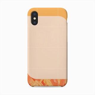 Mid Century Tropical Orange Style Phone Case