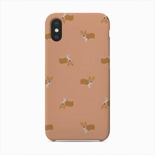 Pink Corgi Nation Phone Case