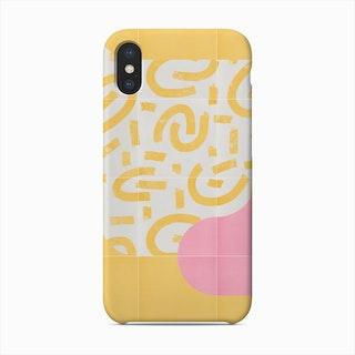 Sunny Doodle Tiles 03 Phone Case