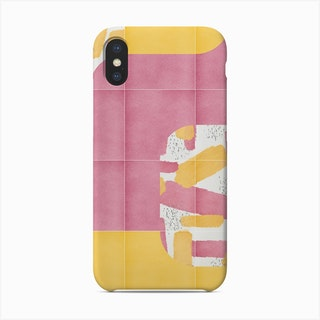Bold Painted Tiles 01 Phone Case