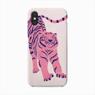 Tiger Doesnt Lose Sleep Pink Phone Case