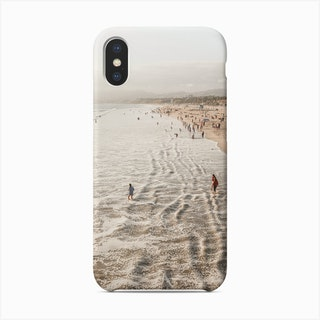 Santa Monica Beach California Phone Case