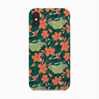 Apple Blossom Butterfly (Radiant) Phone Case