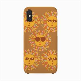 Sunshine Party Boho Ochre Phone Case