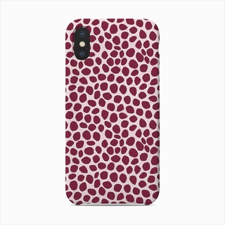 Wine Dots Phone Case