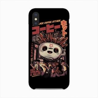 Black Coffee Kaiju Phone Case
