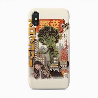 Broccozilla Phone Case