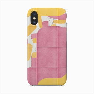 Bold Painted Tiles 02 Phone Case