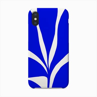 Matisse Inspired 1 Blue And Yellow Phone Case