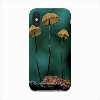 Resting Tigers Phone Case