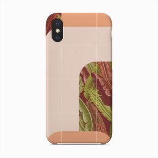 Mid Century Tropical Style Phone Case