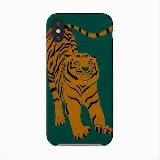 Tiger Doesnt Lose Sleep Phone Case