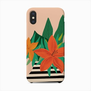 Tiger Lilly Phone Case