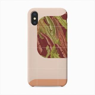 Mid Century Tropical Way Phone Case