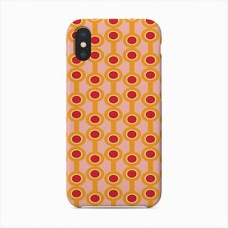 Dumbbells Yellow   Phone Case