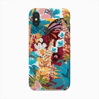 Butterfly Floral Garden Phone Case