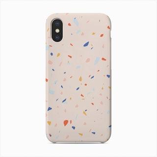 Pink Terrazzo Phone Case