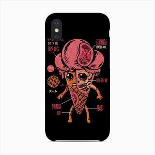 Kaijuce Cream Phone Case
