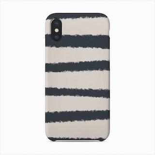 Black And White Stripes Phone Case
