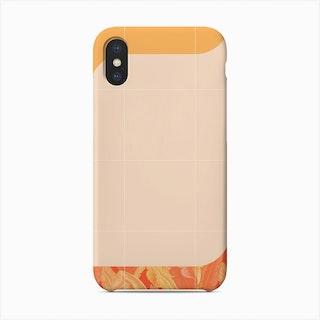 Mid Century Tropical Orange Way Phone Case