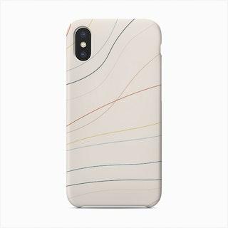 Rainbow Wave Phone Case