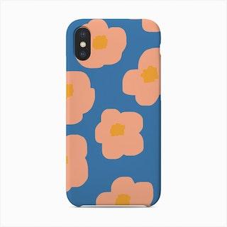 Sookie Floral Blue Phone Case