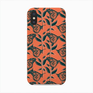 Monarch Butterfly (Radiant) Phone Case