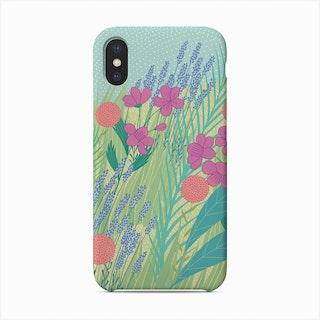 Geranium Lavender Phone Case