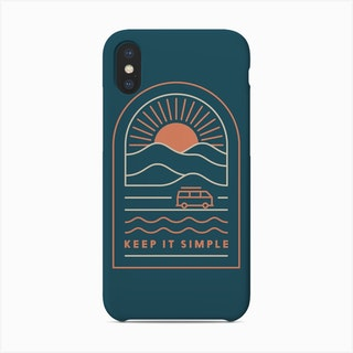 Keep It Simple Phone Case