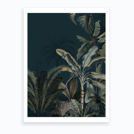 Dreamy Jungle Art Print