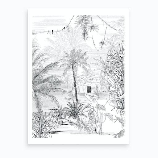 Rainforest Art Print I
