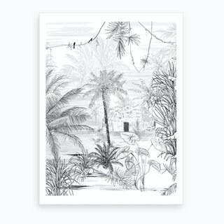 Rainforest Art Print I