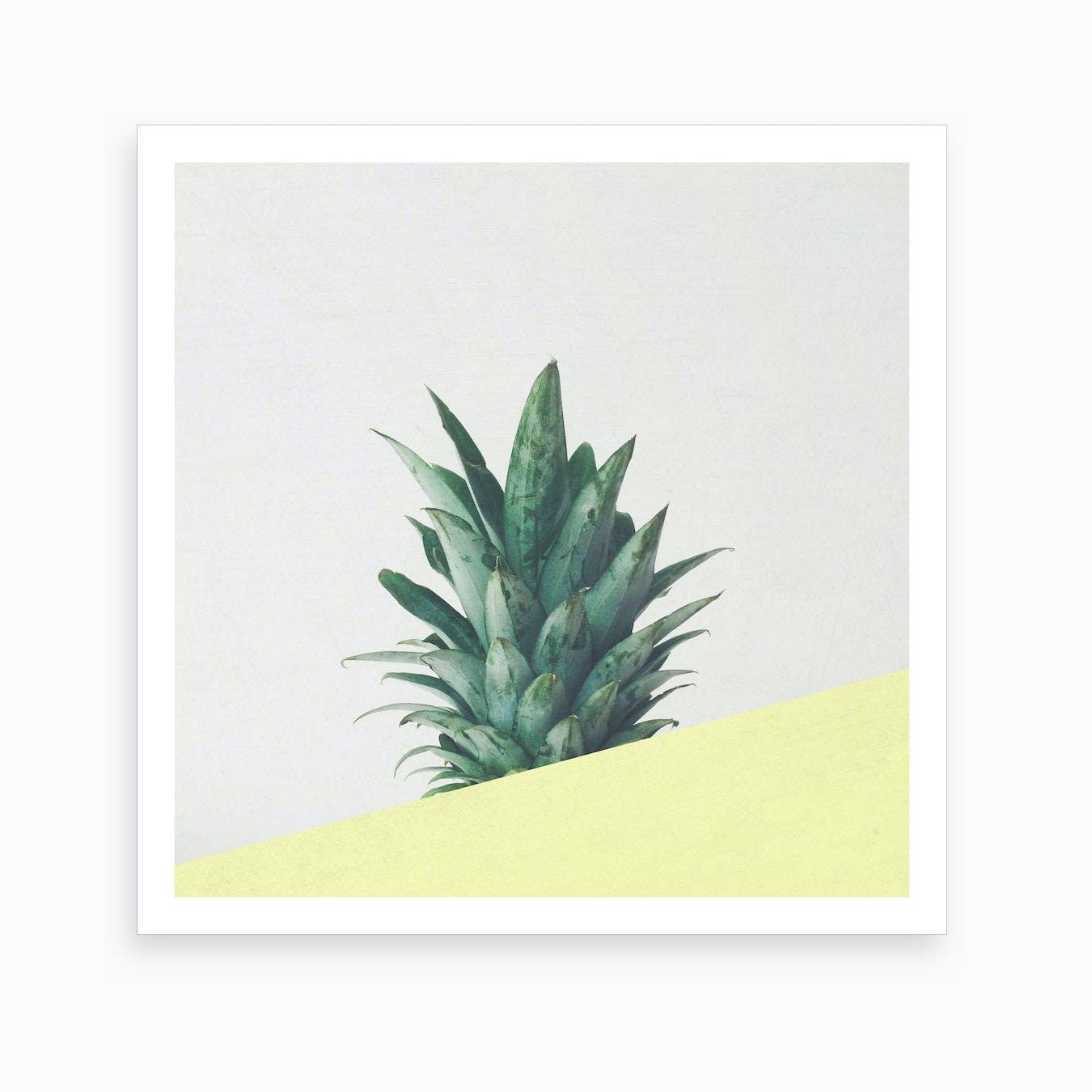 Pineapple Dip III Print