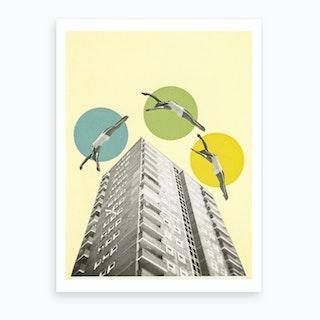 High Flyers Art Print