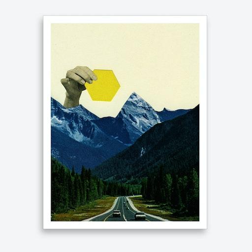 Moving Mountains Art Print
