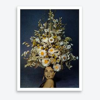 Floral Fashions Art Print