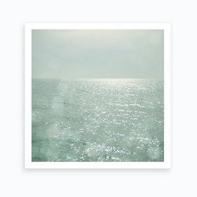 The Silver Sea Print