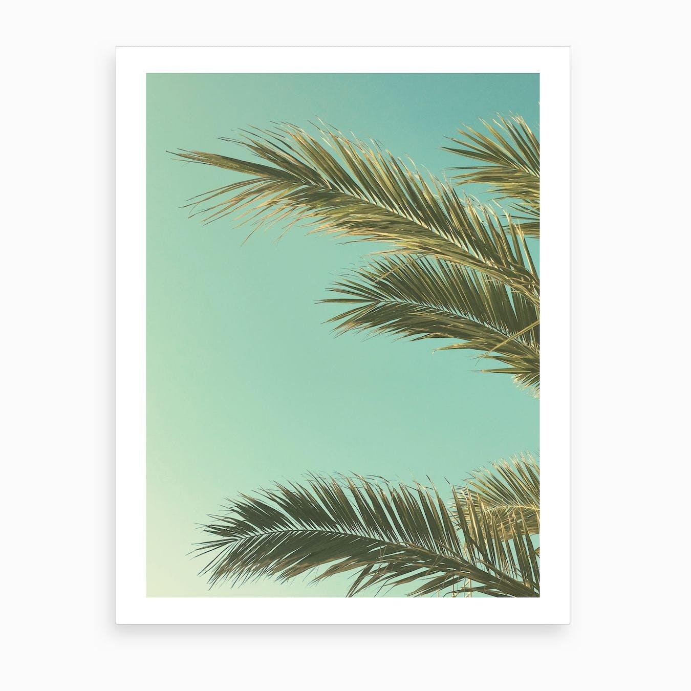 Autumn Palms II Print