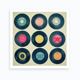 Vinyl Collection Print