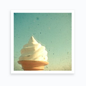 Ice Cream Art Print I