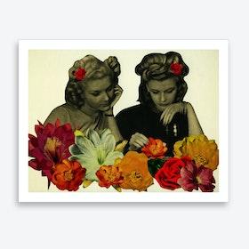 Flower Collectors Art Print
