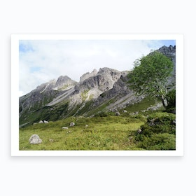 Mountain View 4 Art Print