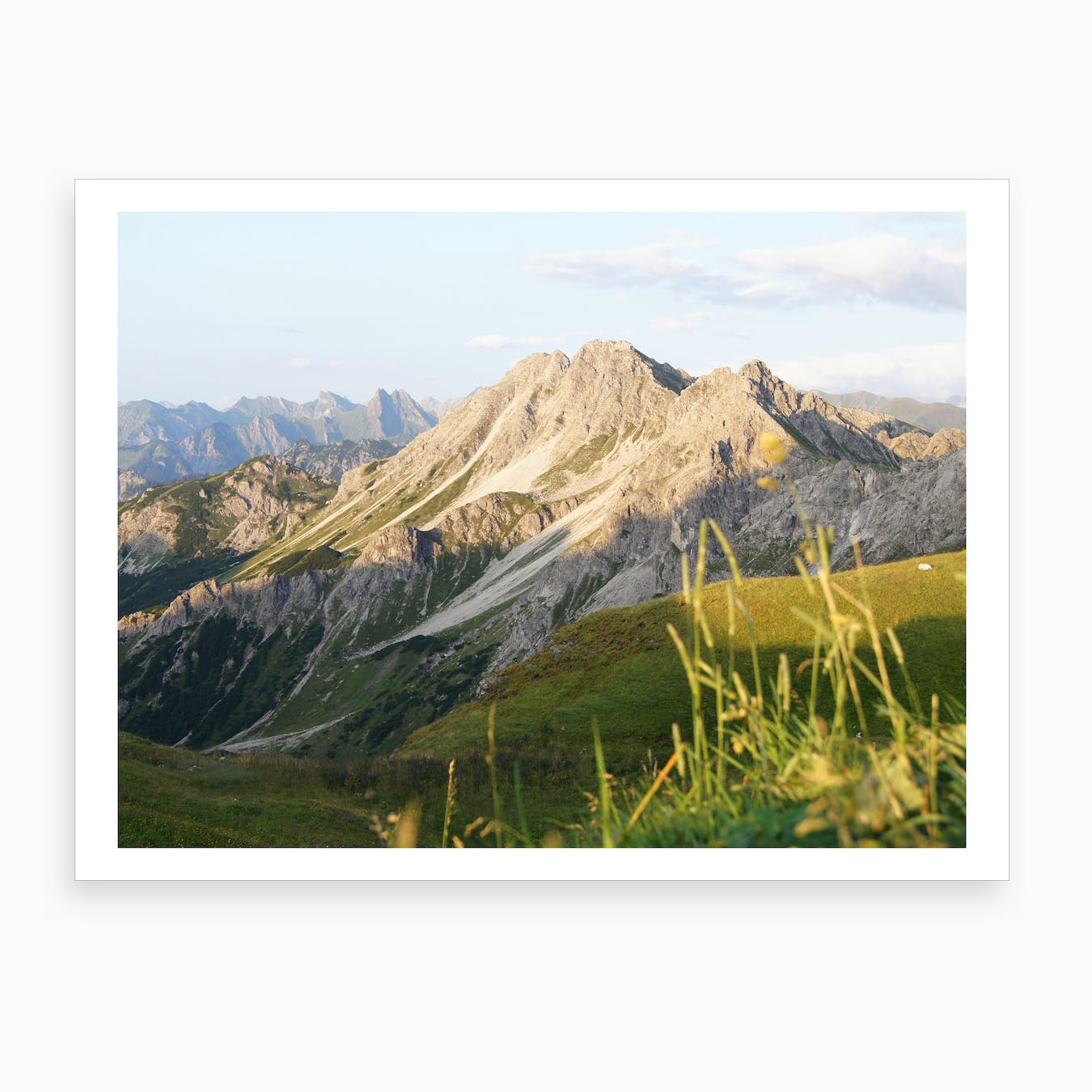 Mountain View 8 Art Print