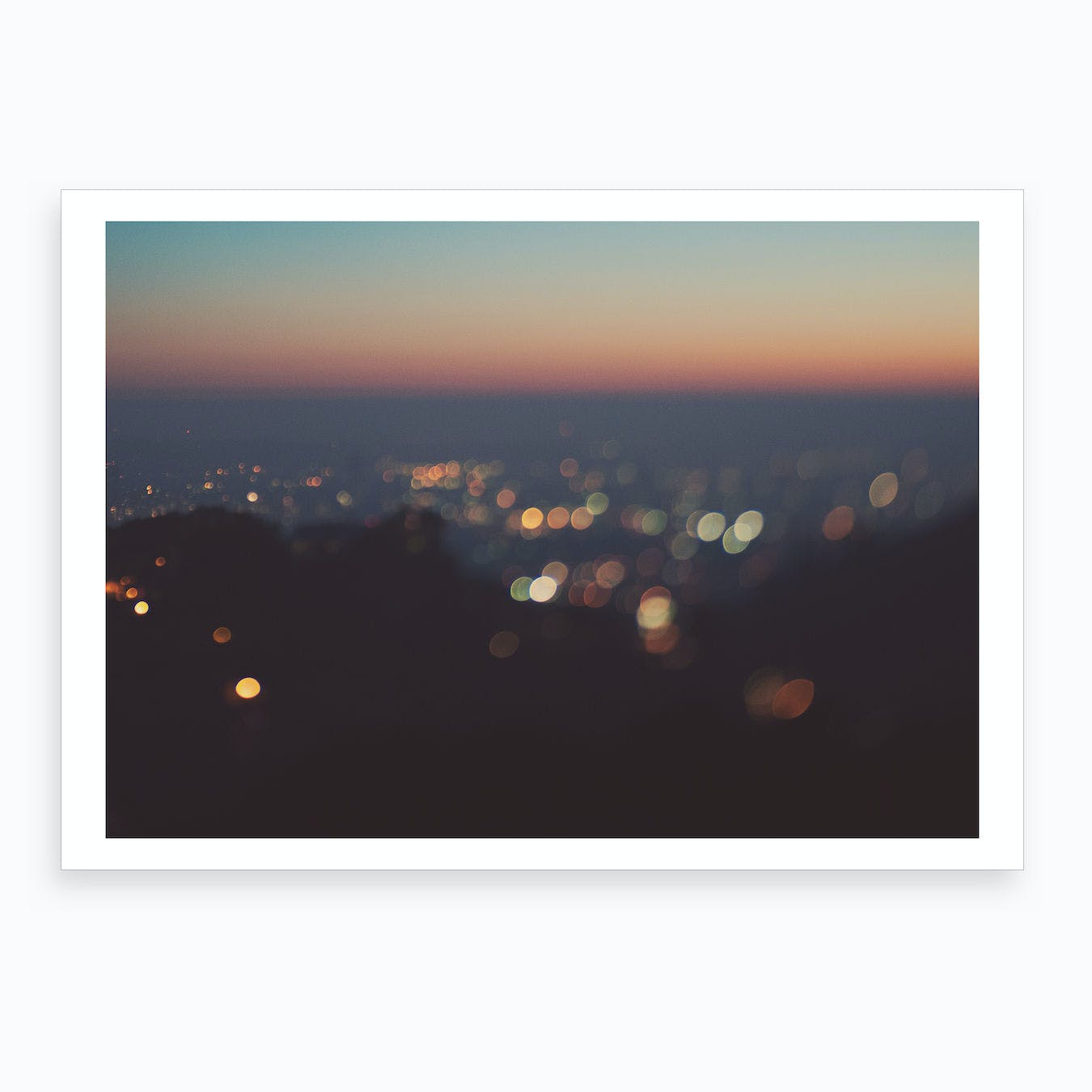 Blue LA Sunset